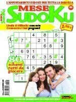 Copertina Sudoku Mese n.95
