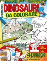 Copertina Dinosauri Leggendari Color n.1