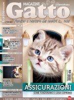 Copertina Gatto Magazine n.128