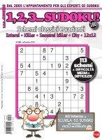Copertina 1,2,3 Sudoku n.180