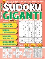 Copertina Sudoku Giganti n.18