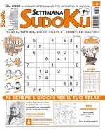 Copertina Settimana Sudoku n.836