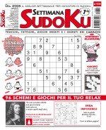 Copertina Settimana Sudoku n.838