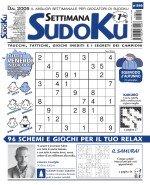 Copertina Settimana Sudoku n.840