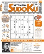Copertina Settimana Sudoku n.841